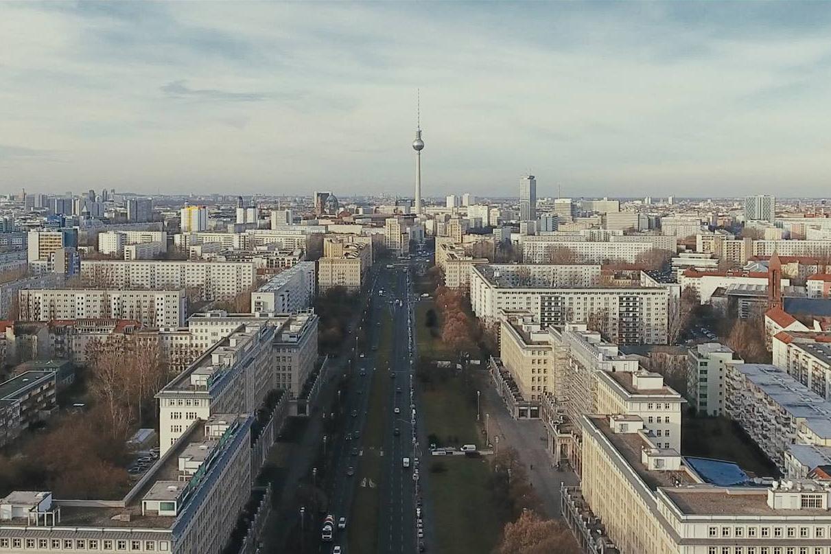 Berlin by Drone