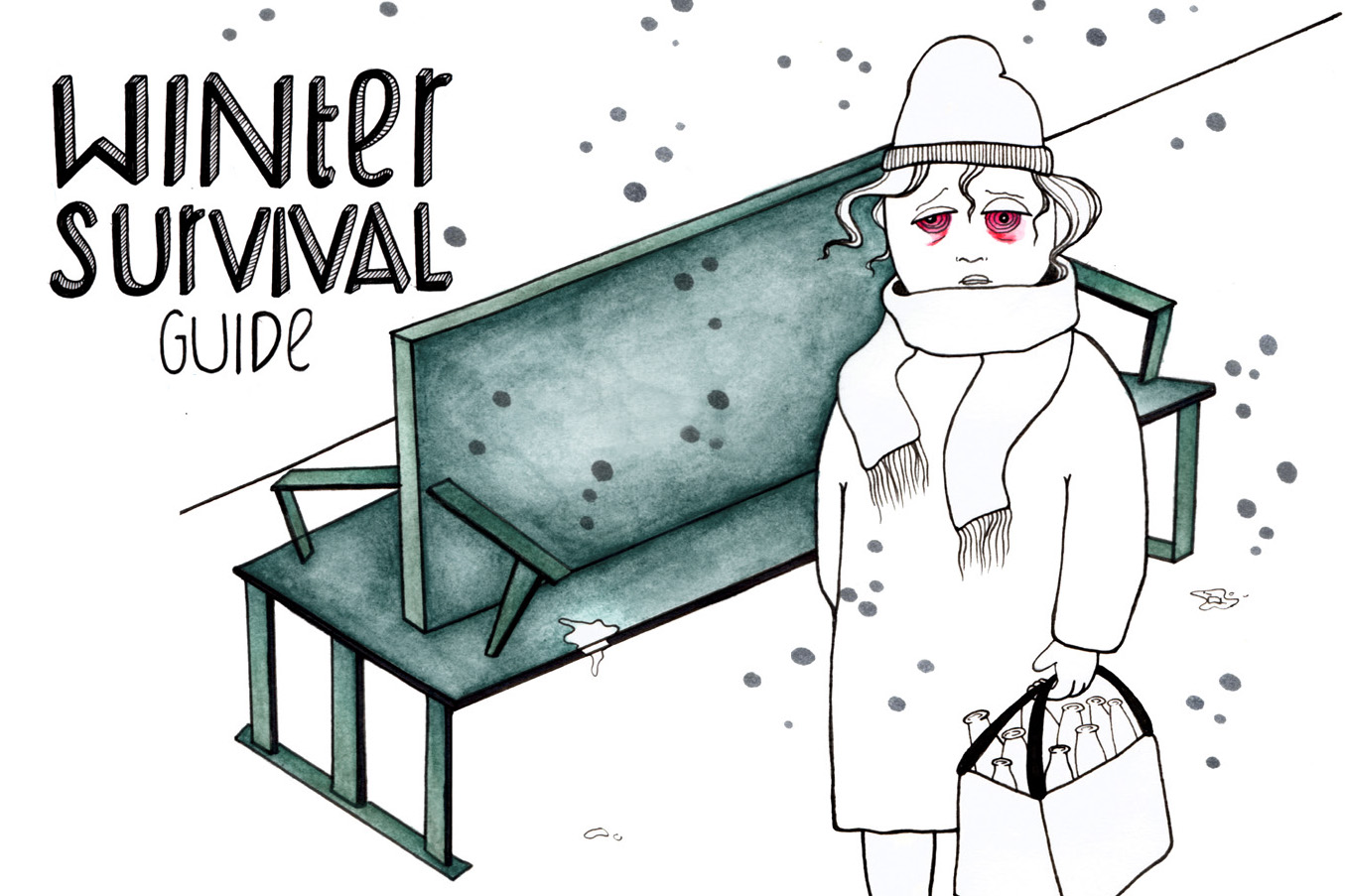 The Cutest Comic about the Struggles of the Berlin Winter