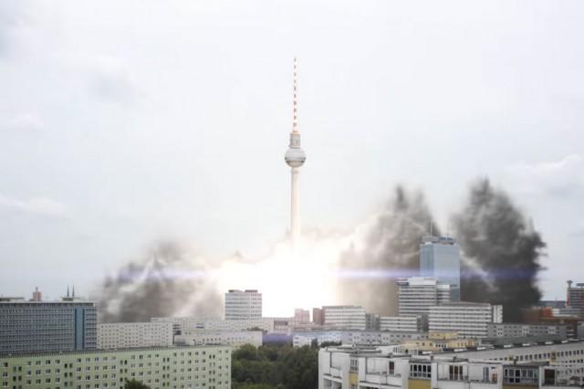 Berlin TV Tower Liftoff