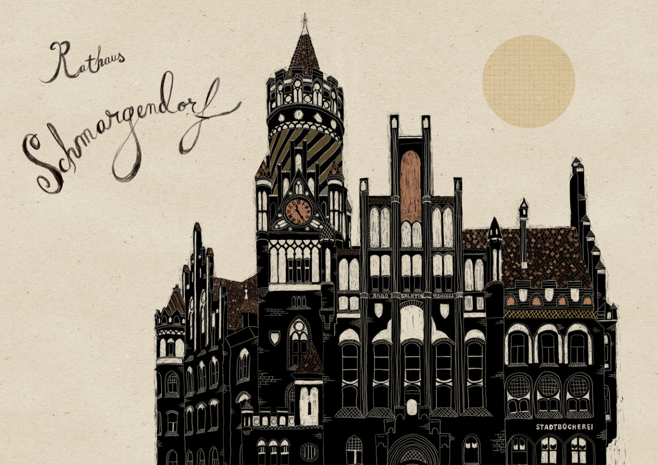 b r von pappe liebevolle berlin illustrationen