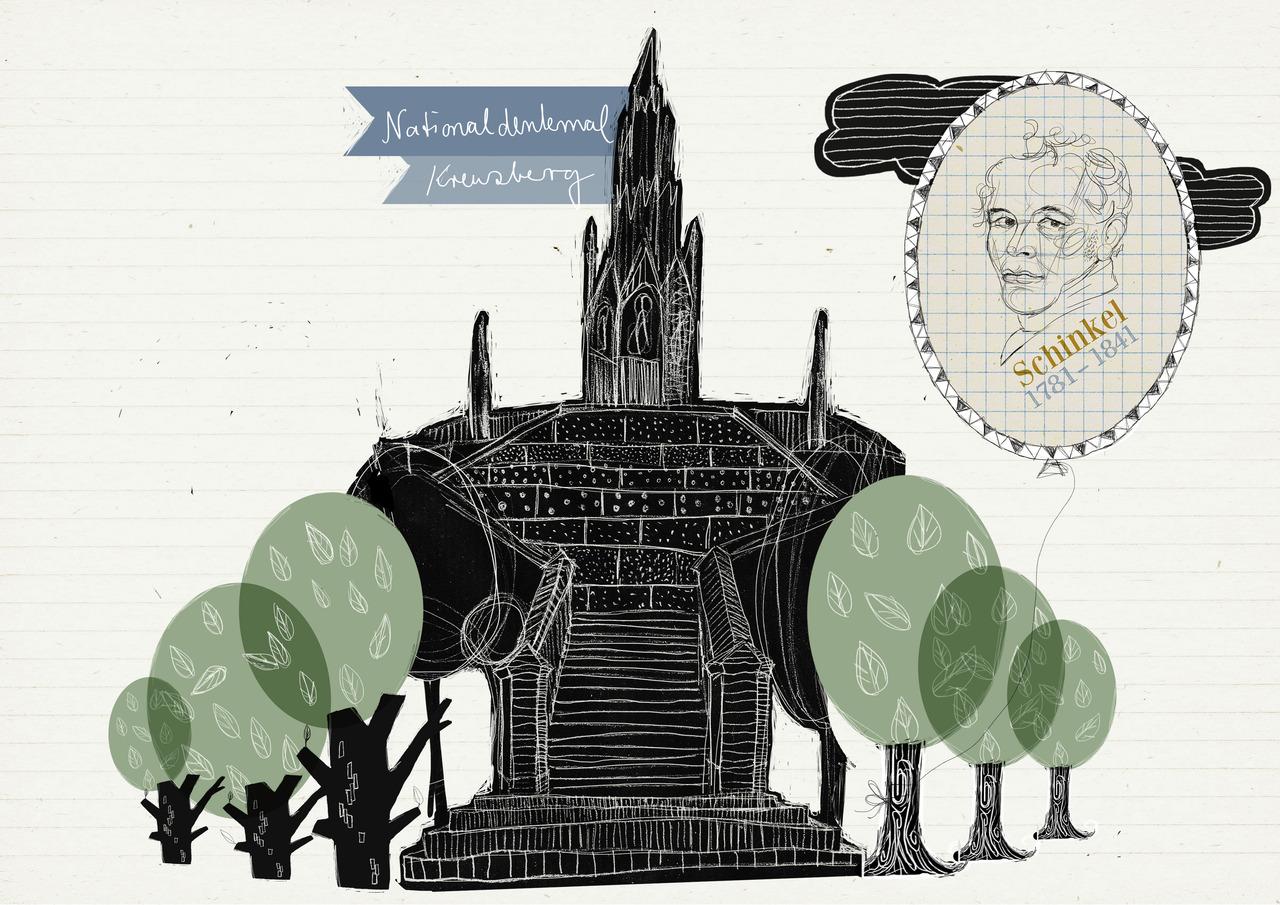 b r von pappe liebevolle berlin illustrationen. Black Bedroom Furniture Sets. Home Design Ideas