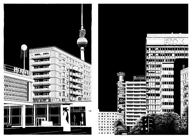 Blackout Berlin: An Abstract Interpretation of the City