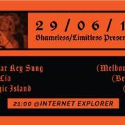 Shameless/Limitless: Oscar Key Sung, Lia Lia, Magic Island (DJ)