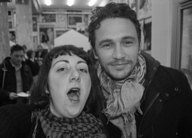 10. Nadja Sayej and James Franco, Berlin, 2011_Photo_NadjaSayej