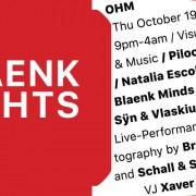 Blaenk Nights