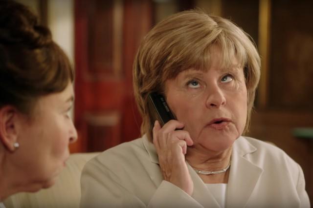 Angela Merkel Eyeroll Tracey Ullmann