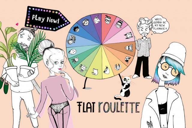 Flat Roulette Cover