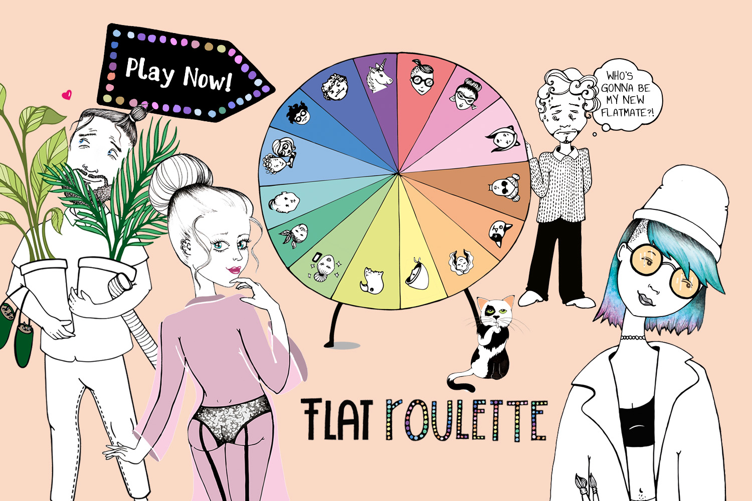 Our First Interactive Game: The Flat Roulette