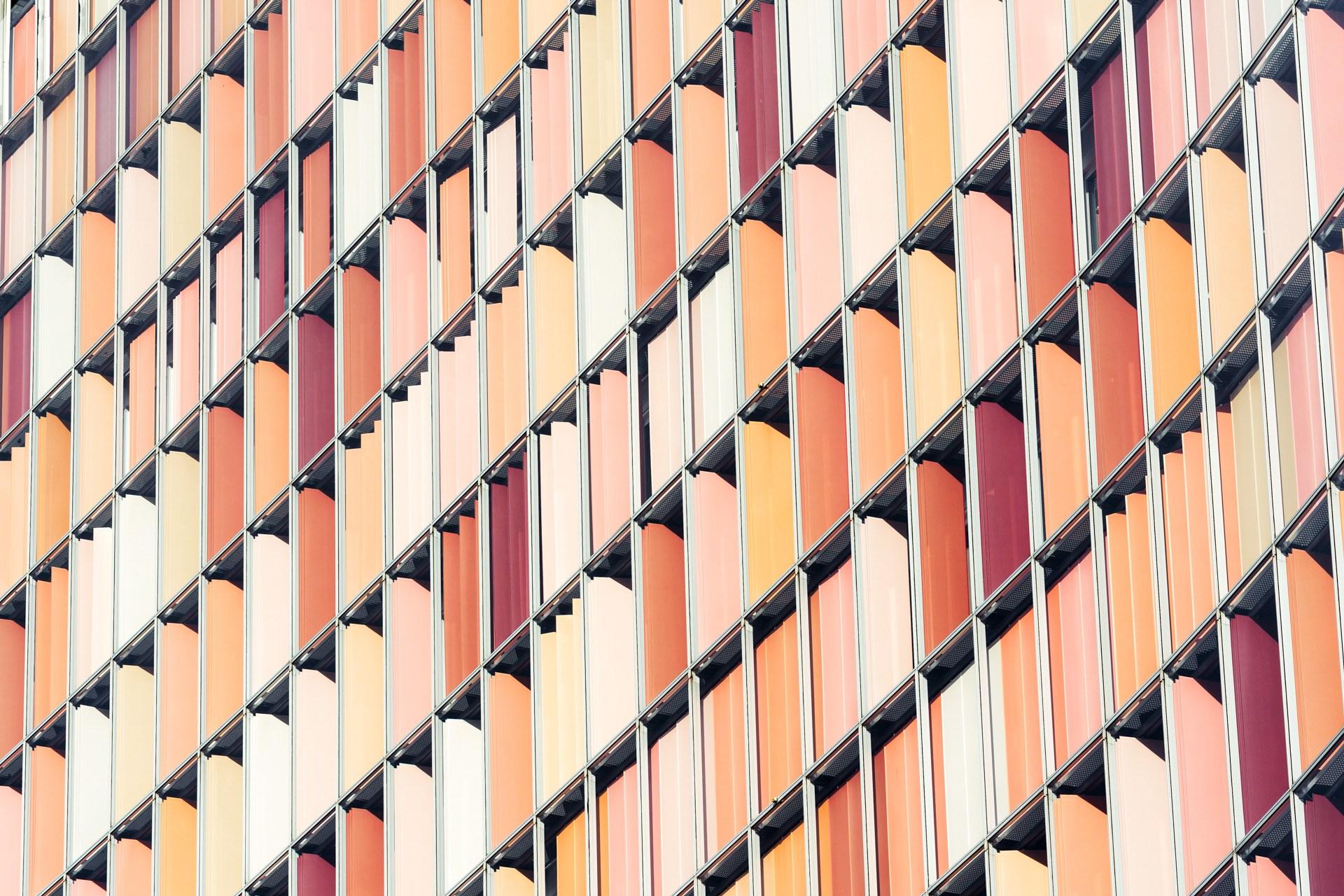 Die Farben und Strukturen Berlin's