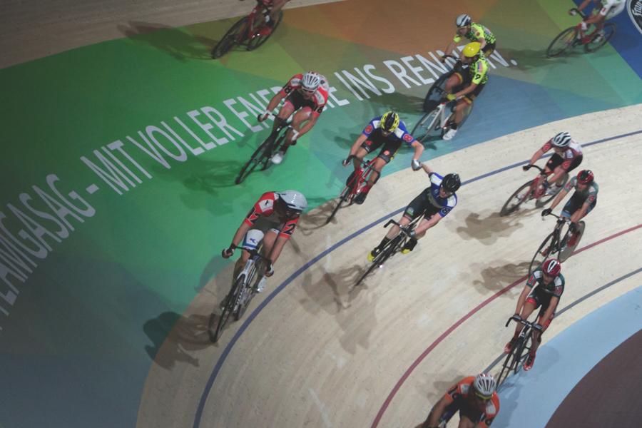 The Six Day Berlin Bike Race at Velodrom