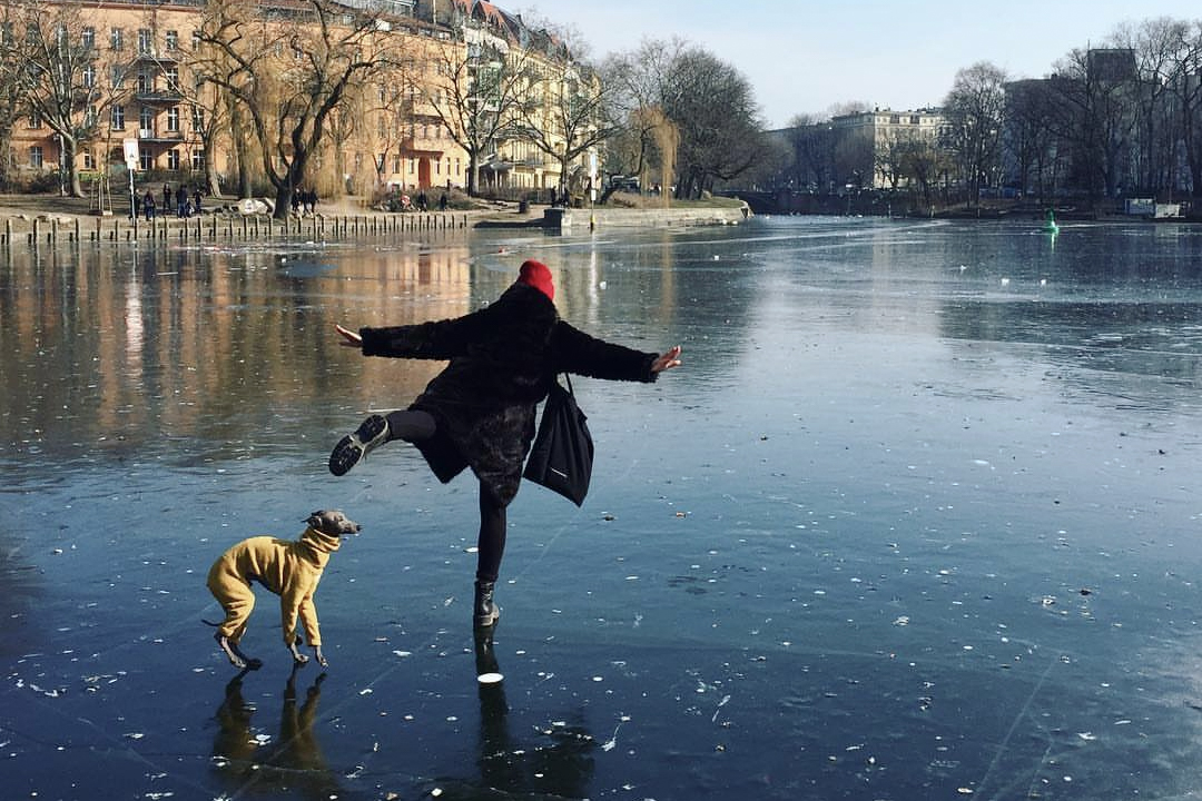 Berlin is on Ice: Impressions of a Frozen City