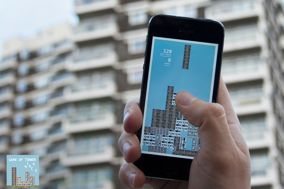 This Game Let's you Play Tetris with Plattenbau Blocks