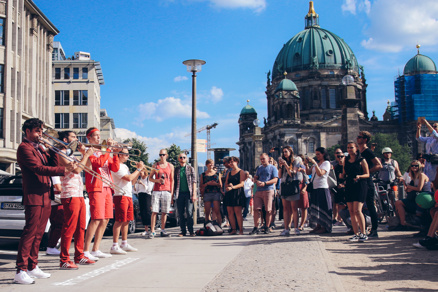 #morespacefor #Music – How A Pop-Up Concert Surprised Berlin