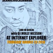 S/L: Cadence Weapon / Sean Nicholas Savage / DJ Molly Nilsson