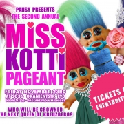 MISS KOTTI Pageant 2018 // Nov 23 at SO36