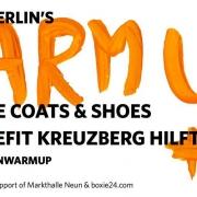 Stil in Berlin\'s WARM UP #5 benefitting Kreuzberg Hilft
