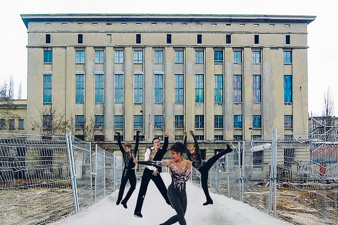 Go Ice Skating at Berghain this Winter