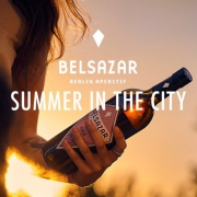 Summer in the city: Aperitivo time with Belsazar