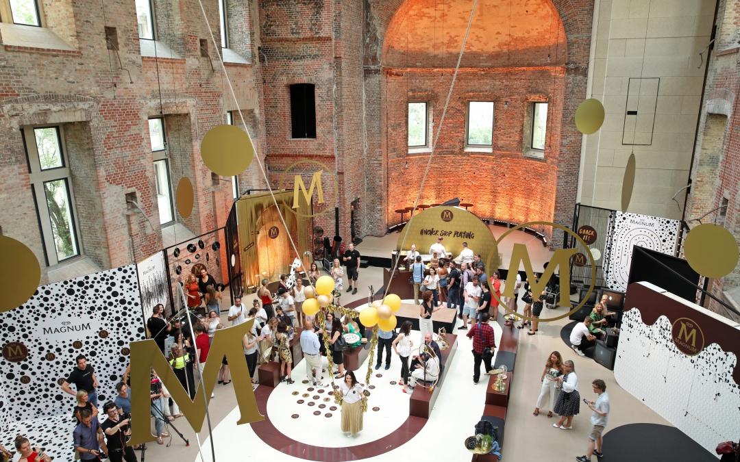 Magnum House of Play: Ein Spielplatz für Träumer und Eisliebhaber