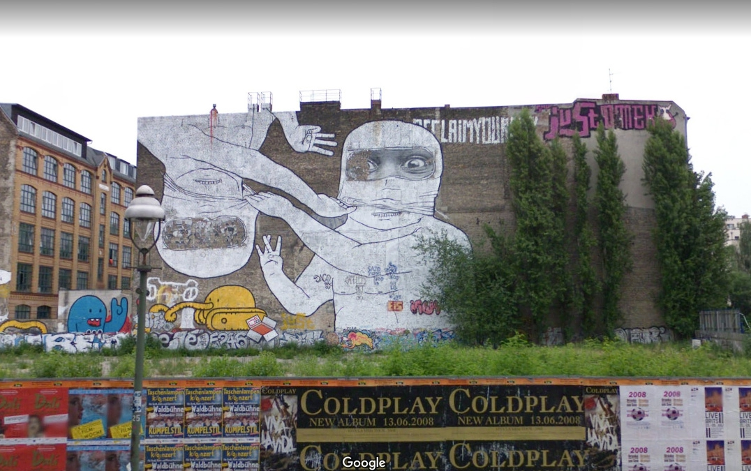 Travel A Decade Back in Berlin With Google Street View