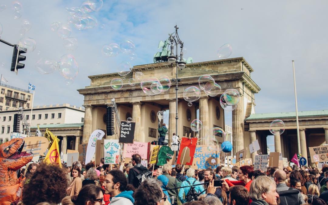 Der Weltweite Klimastreik brachte 270.000 Menschen in Berlin auf die Straßen