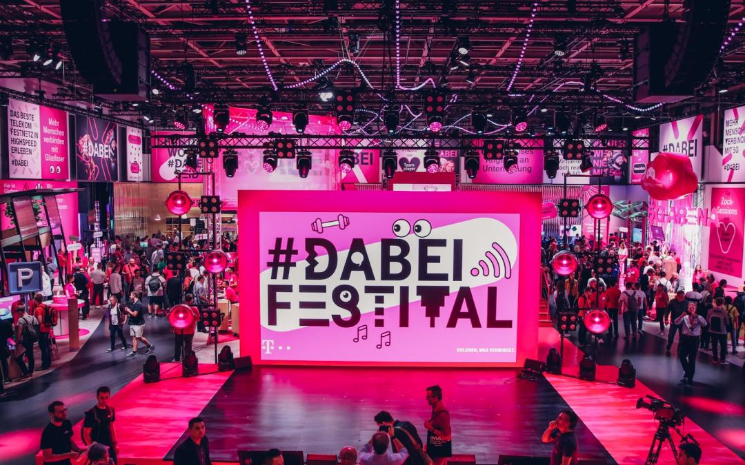 Ein Spielplatz für Alle: Das #Dabei Festival der Telekom auf der IFA