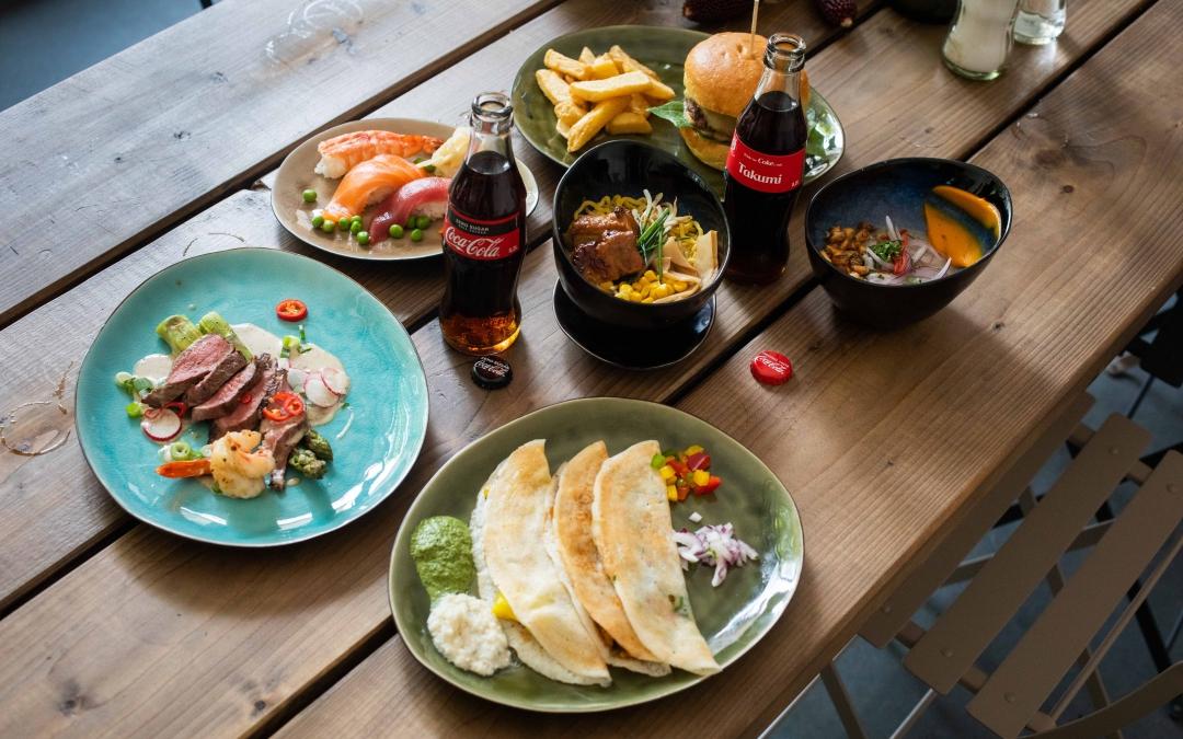 Erlebt Kulinarik aus aller Welt beim The Original Way – Coke Food Festival