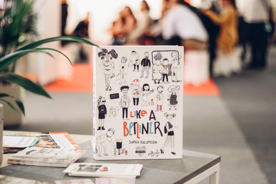 iHeartBerlin & Sophia Halamoda präsentieren ihr neues Buch: Like A Berliner