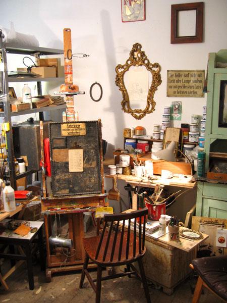 Mateo's Studio at Zozoville Gallery