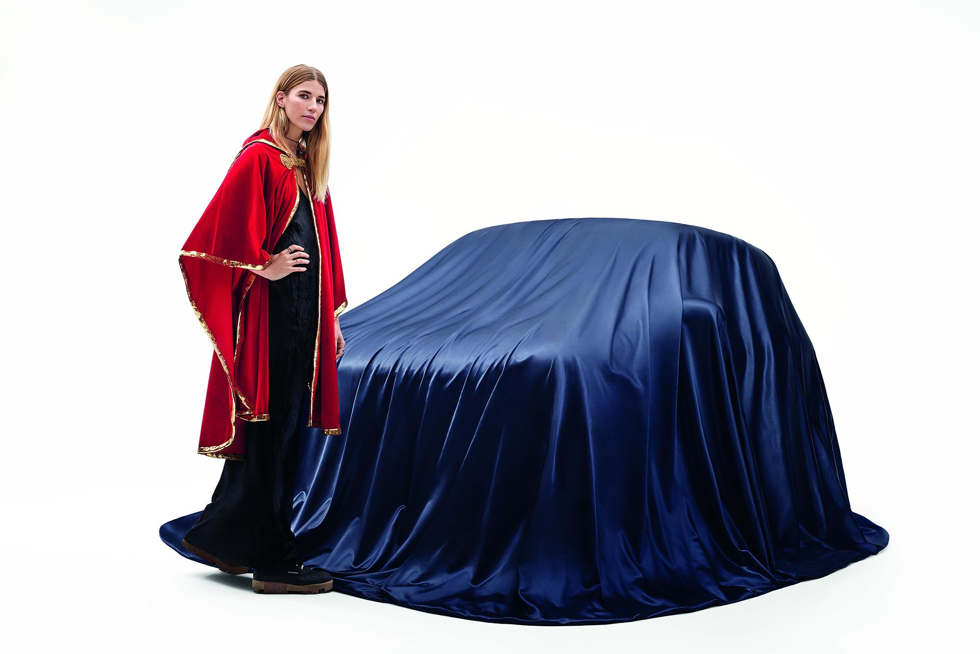 A Fashionable Car Revealed at Berlin Fashion Week