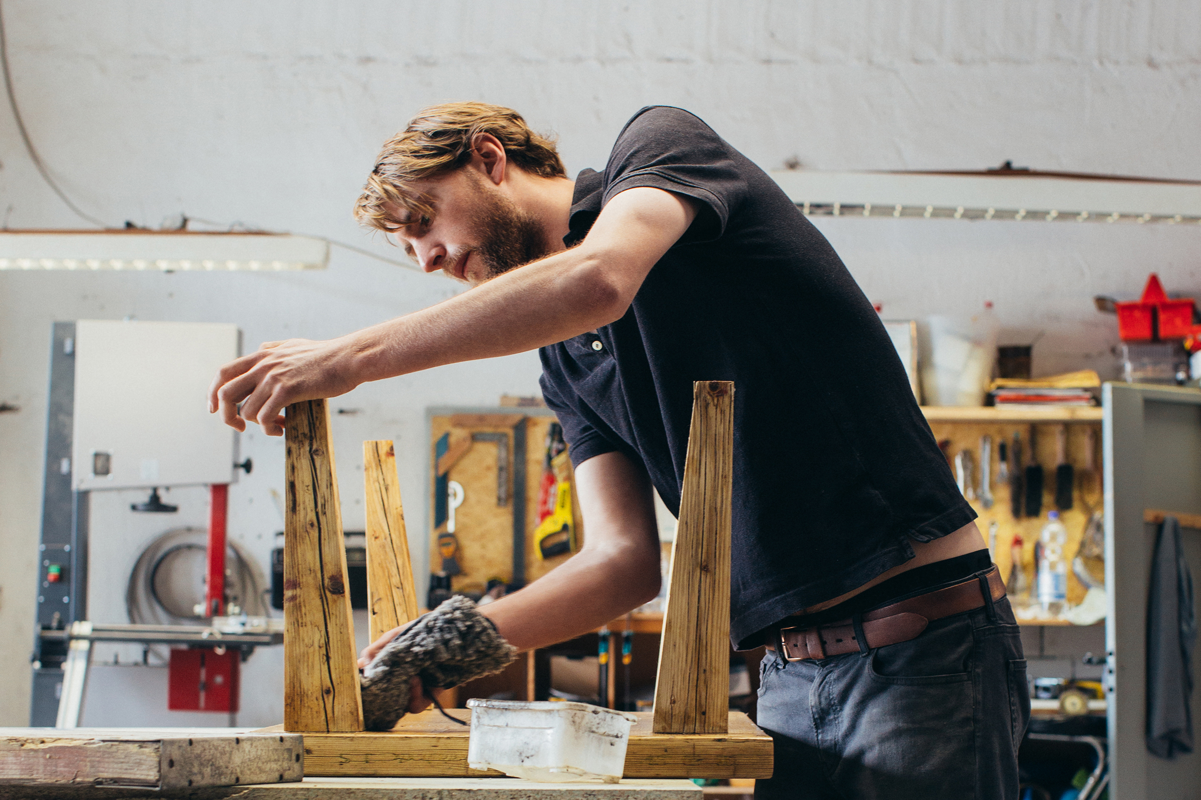 Berlin Goods: Wooden Furniture from Kentholz