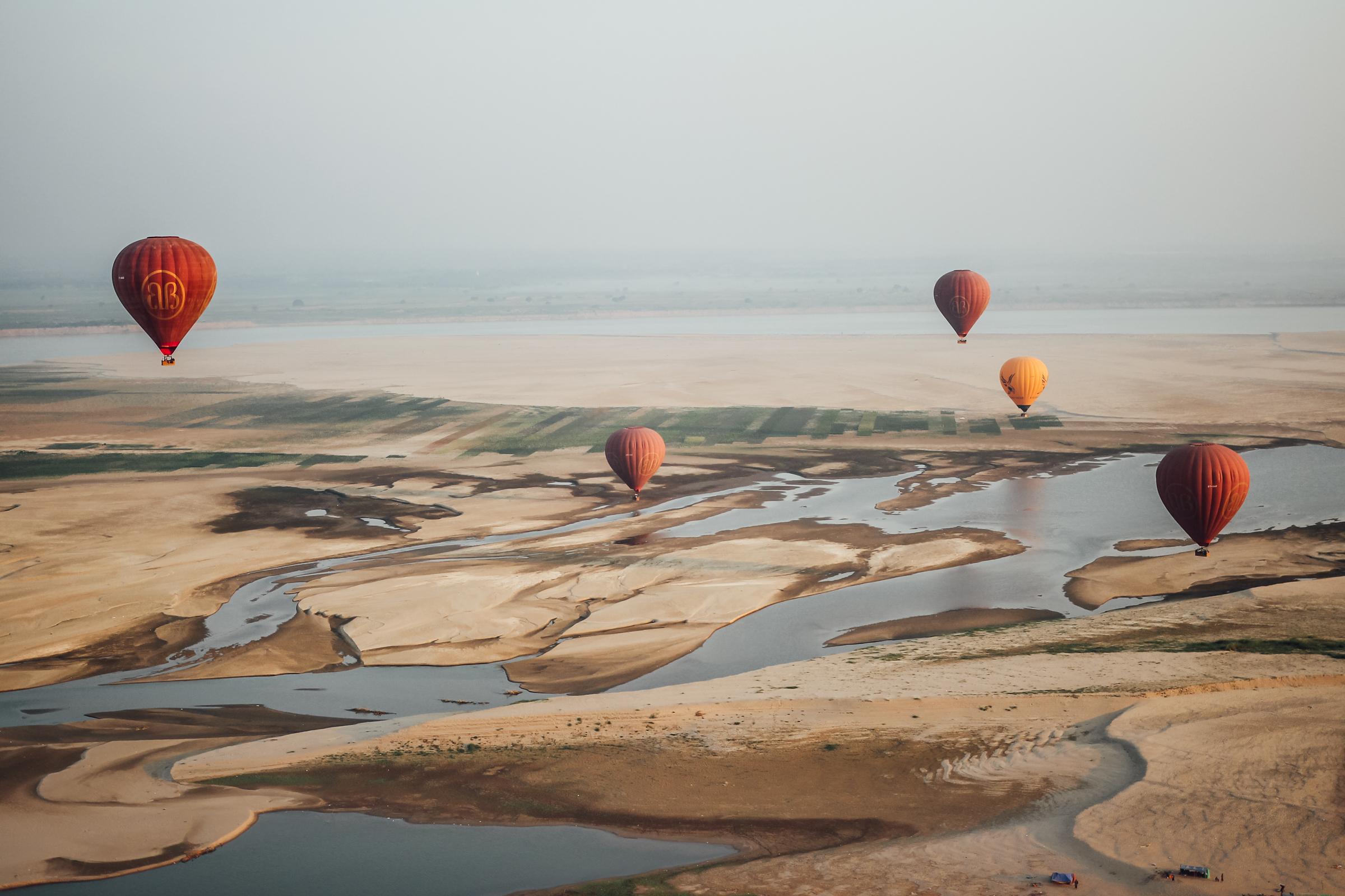 Dreams Come True in Hot Air Balloons