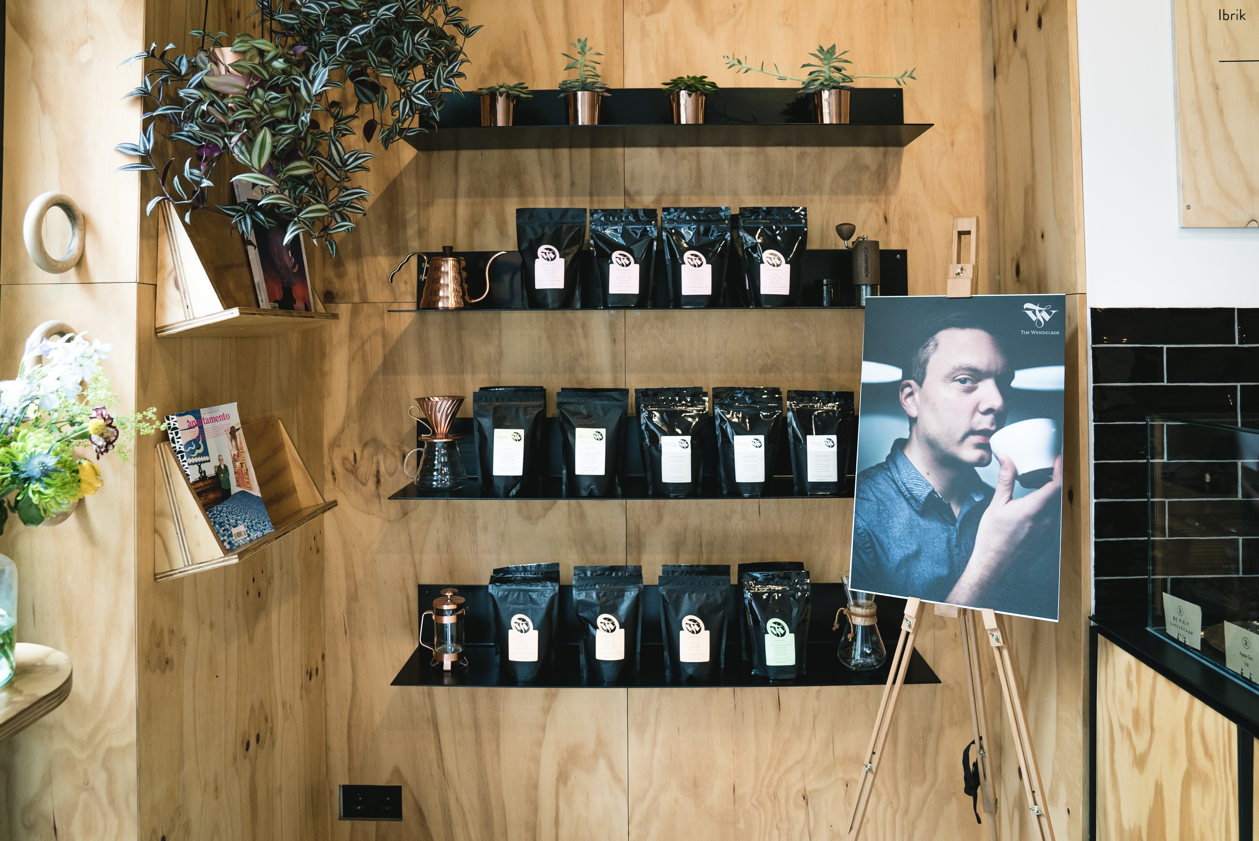 Refinery High End Coffee Bar & Retail Store in Berlin