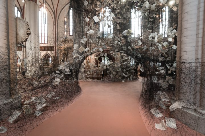A Storm of Thoughts & Threads: Lost Words by Chiharu Shiota