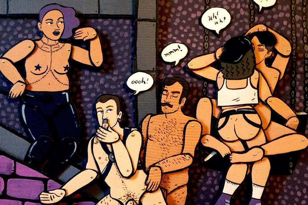 Queerness, Sex and Pizza Boxes: The Illustrations of Rory Midhani