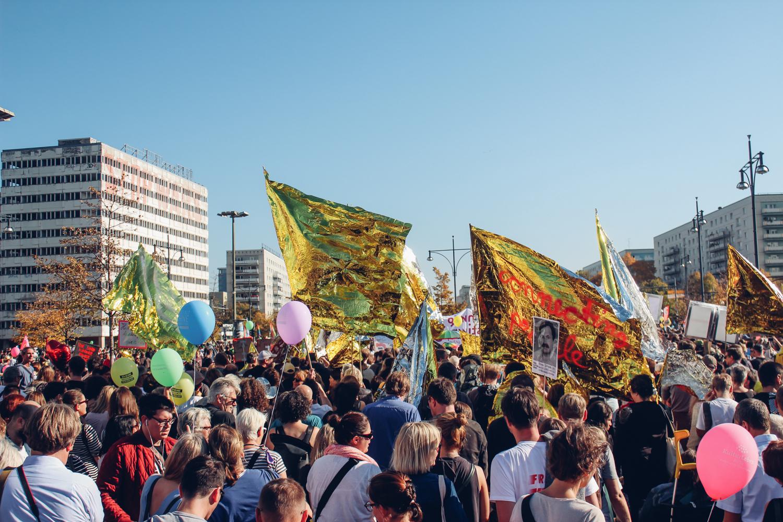 #Unteilbar – Berlin stellt sich gegen Ausgrenzung und Fremdenhass