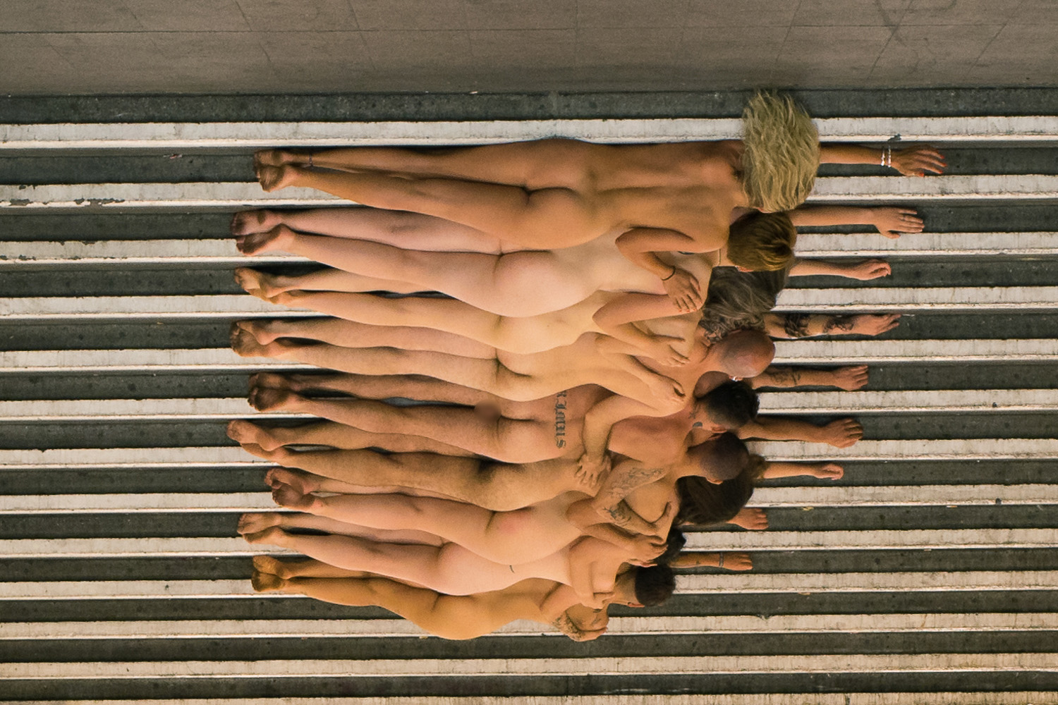 Because We Love You: Naked Interventions in the Subway