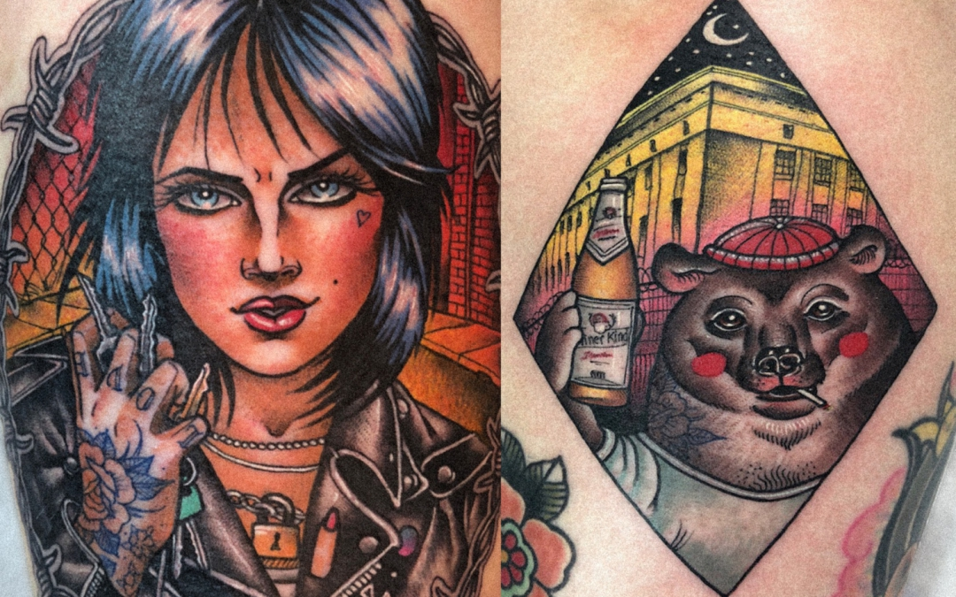 Guen Douglas: The Berlin Tattoo Artist Bringing Sass & Sexiness Onto Your Skin