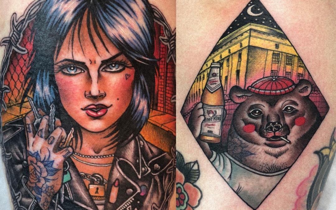 Die Tattoo Kunst von Guen Douglas