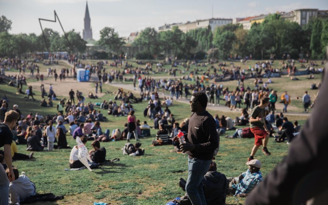 Eindrücke vom Ersten Mai in Berlin Kreuzberg