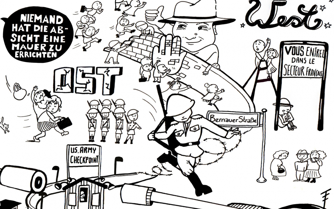 The Story of the Berlin Wall Explained in One Big Comic