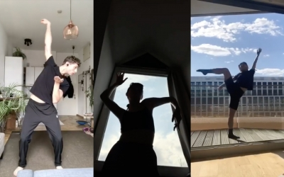 The Dancers from the Staatsballett Berlin Dancing From Home