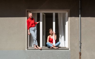 Stay at Home: Portraying Berliners through their Windows