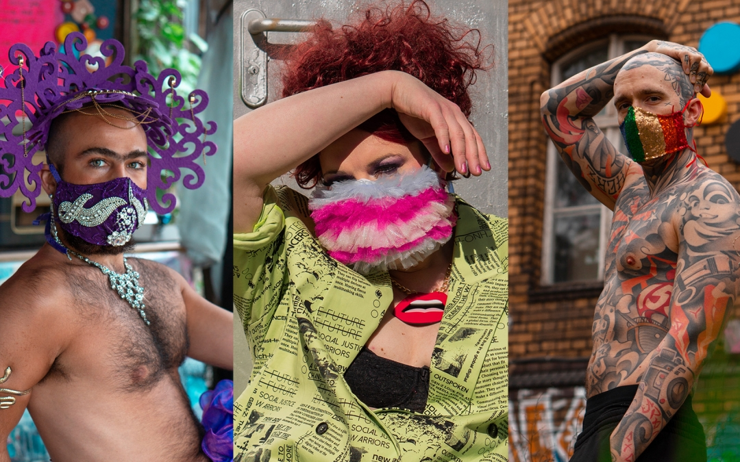 Face Masks for Queer Visibility