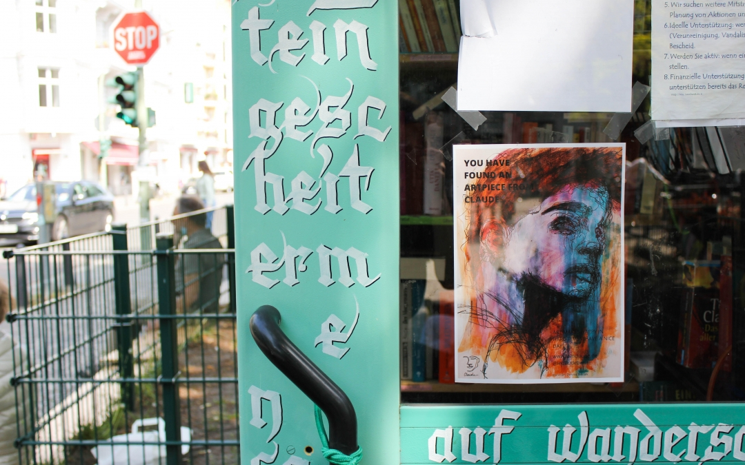 Claude: Discover Hidden Art in the Streets of Berlin