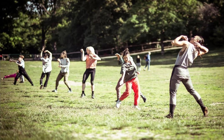 Das Staatsballett Berlin tanzt im Freien