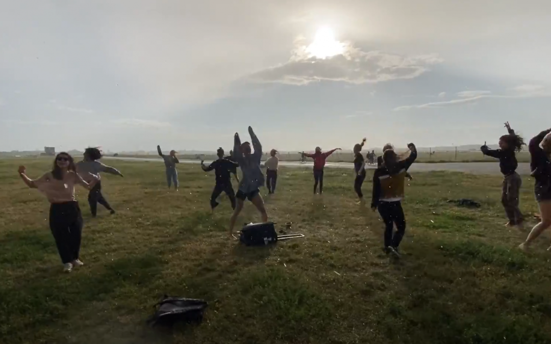 Dose of Pleasure: Raving and Dancing at a Safe Distance Tempelhofer Feld