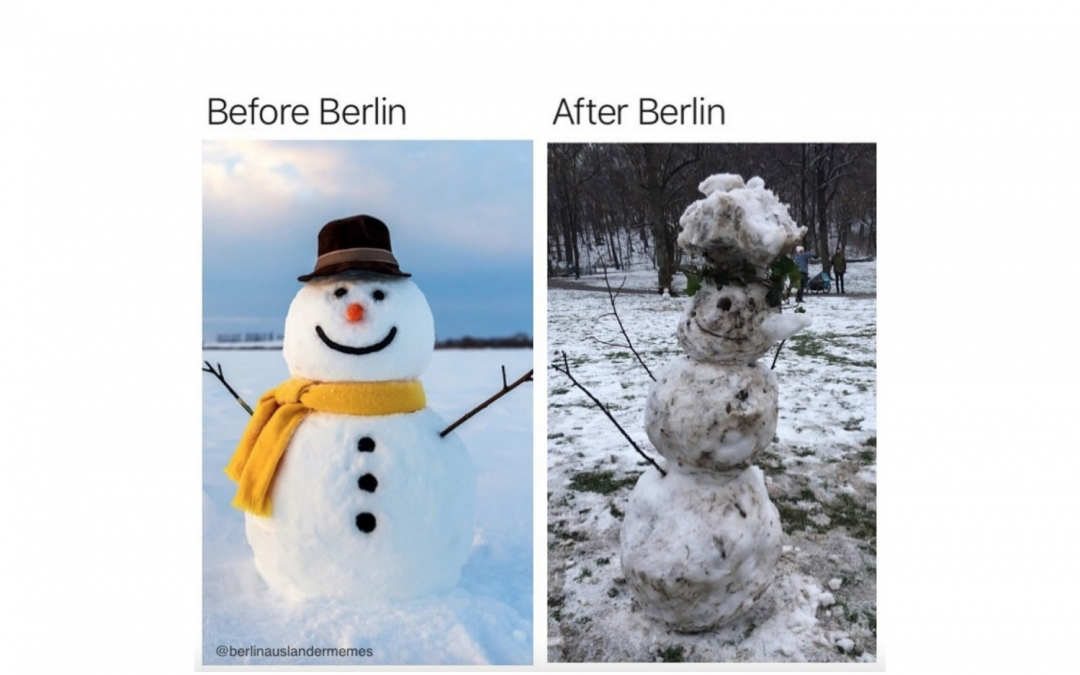 A Roundup of Berlin's Best Snow Memes
