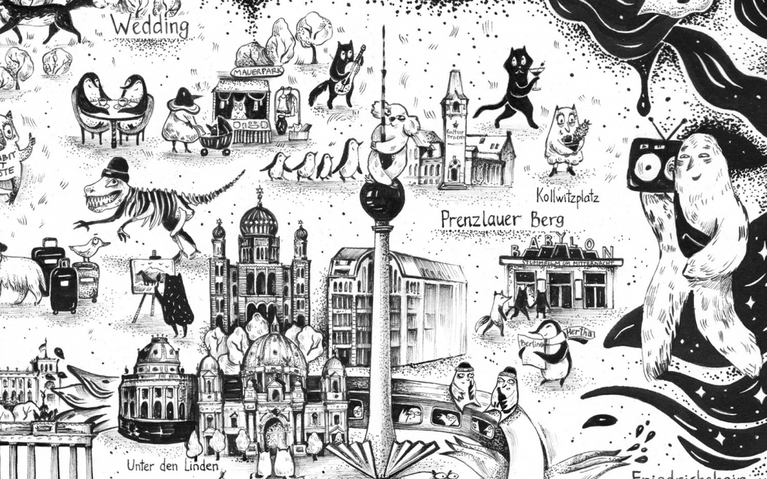 This Cute Alternative Map of Berlin Reminds Us of the City's Magic