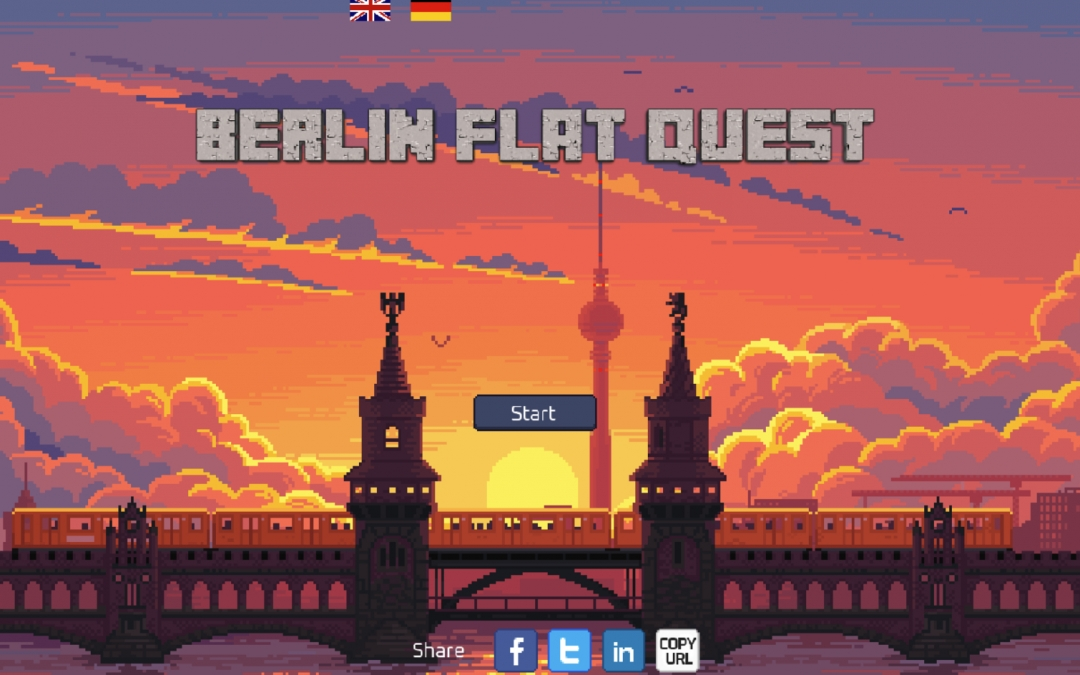 Berlin Flat Quest: The Hilarious Game About Apartment Hunting in Berlin